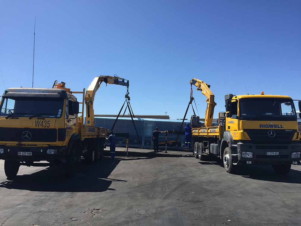 Rigwell - Machine Moving & Haulage