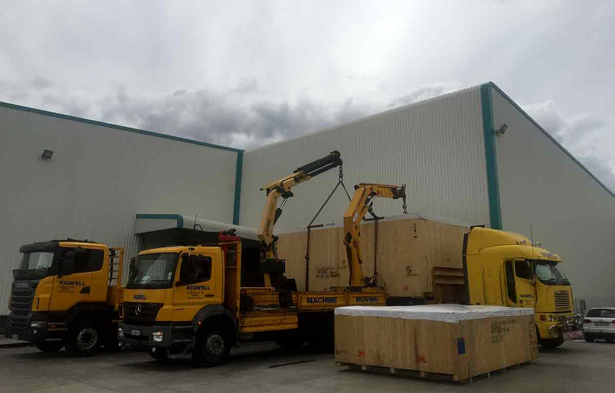 Rigwell provides warehouse storage space